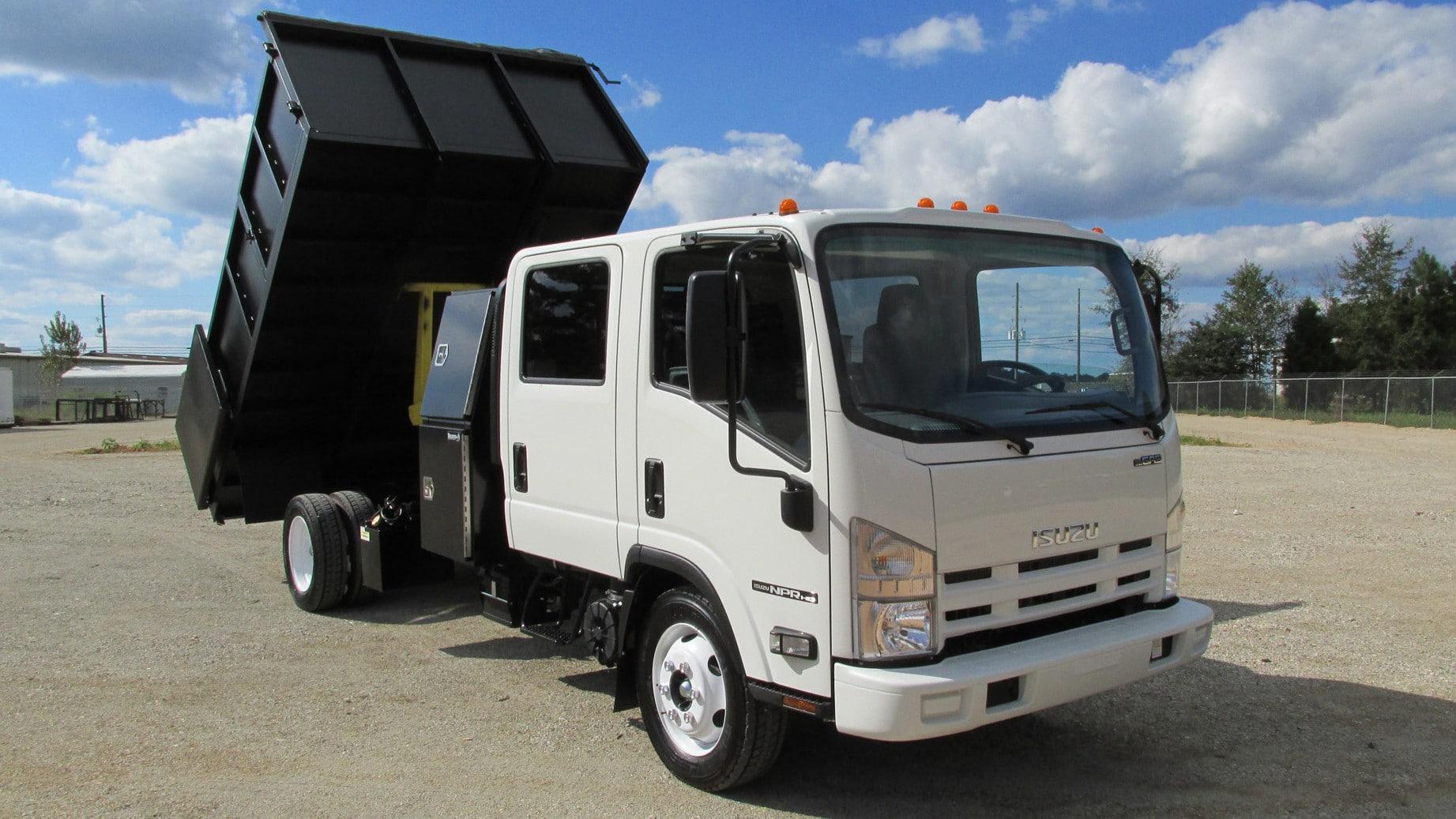 slt dump truck series super lawn trucks