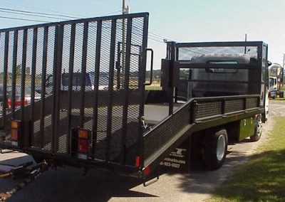 Open Landscape Truck