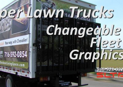 SLT Changeable Fleet Graphics