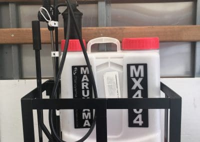 Back Pack Sprayer Rack $160.00