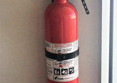 Fire Extinguisher with wall mount holder $30.00
