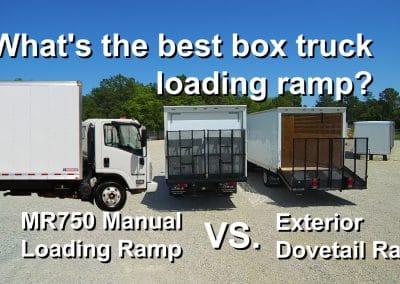 MR750 vs Dovetail Ramp