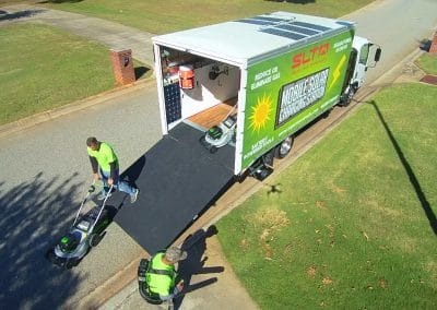 Mobile Solar Charging Station Walk Around